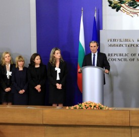 plamen oresharski and ministers photo government bg