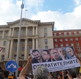 protest june 2013 sofia photo clive leviev-sawyer