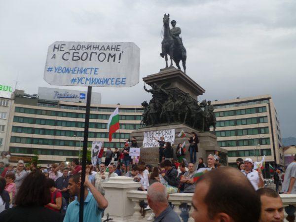 sofia protest 15 June 2013 photo Clive Leviev-Sawyer