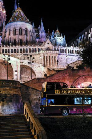 tourist bus budapest