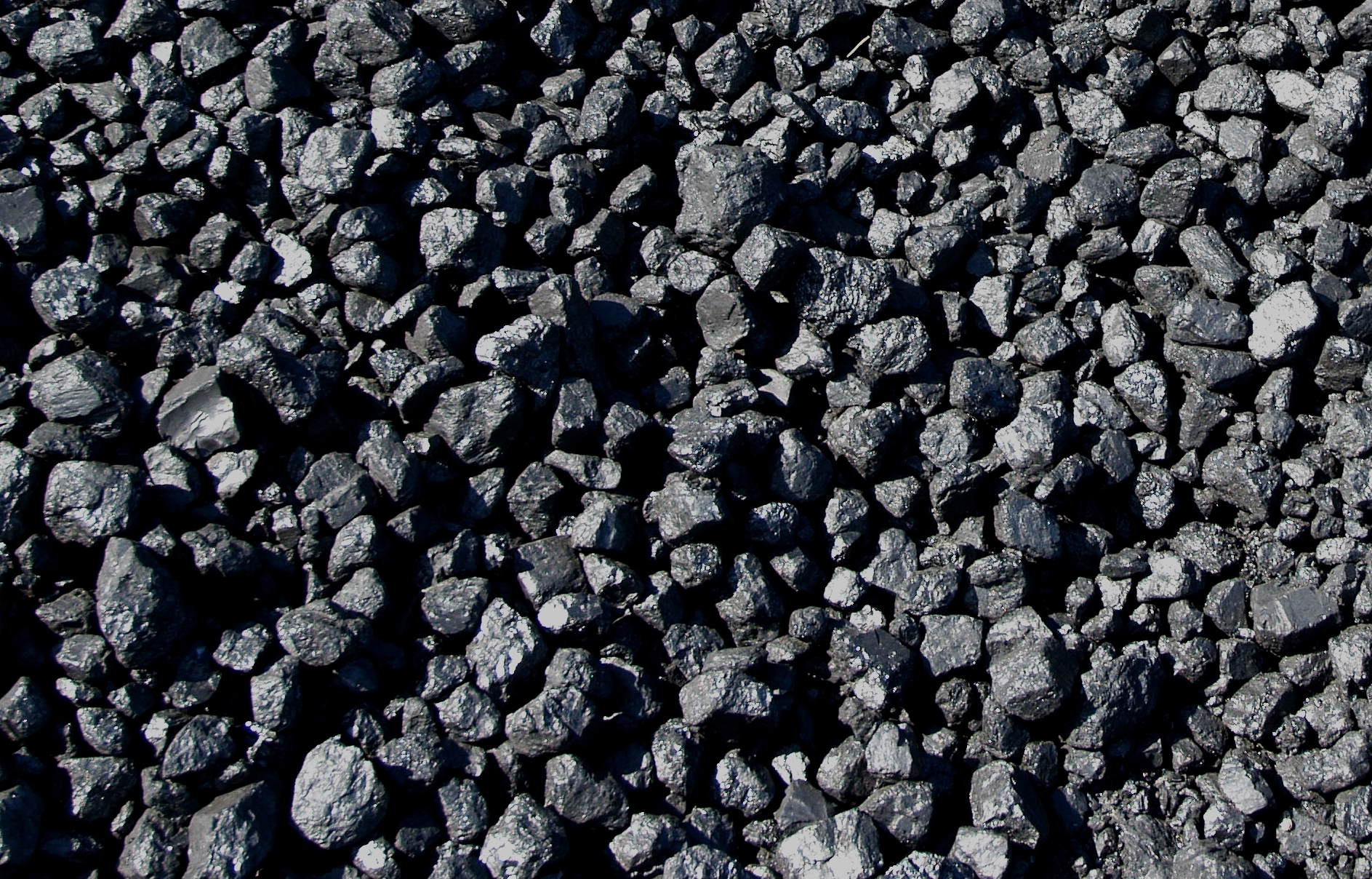 how to clean coal off of rocks