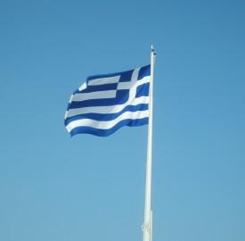 Greek flag CLS