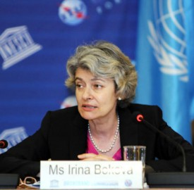 Irina Bokova of Unesco photo UNESCO Danica Bijeljac