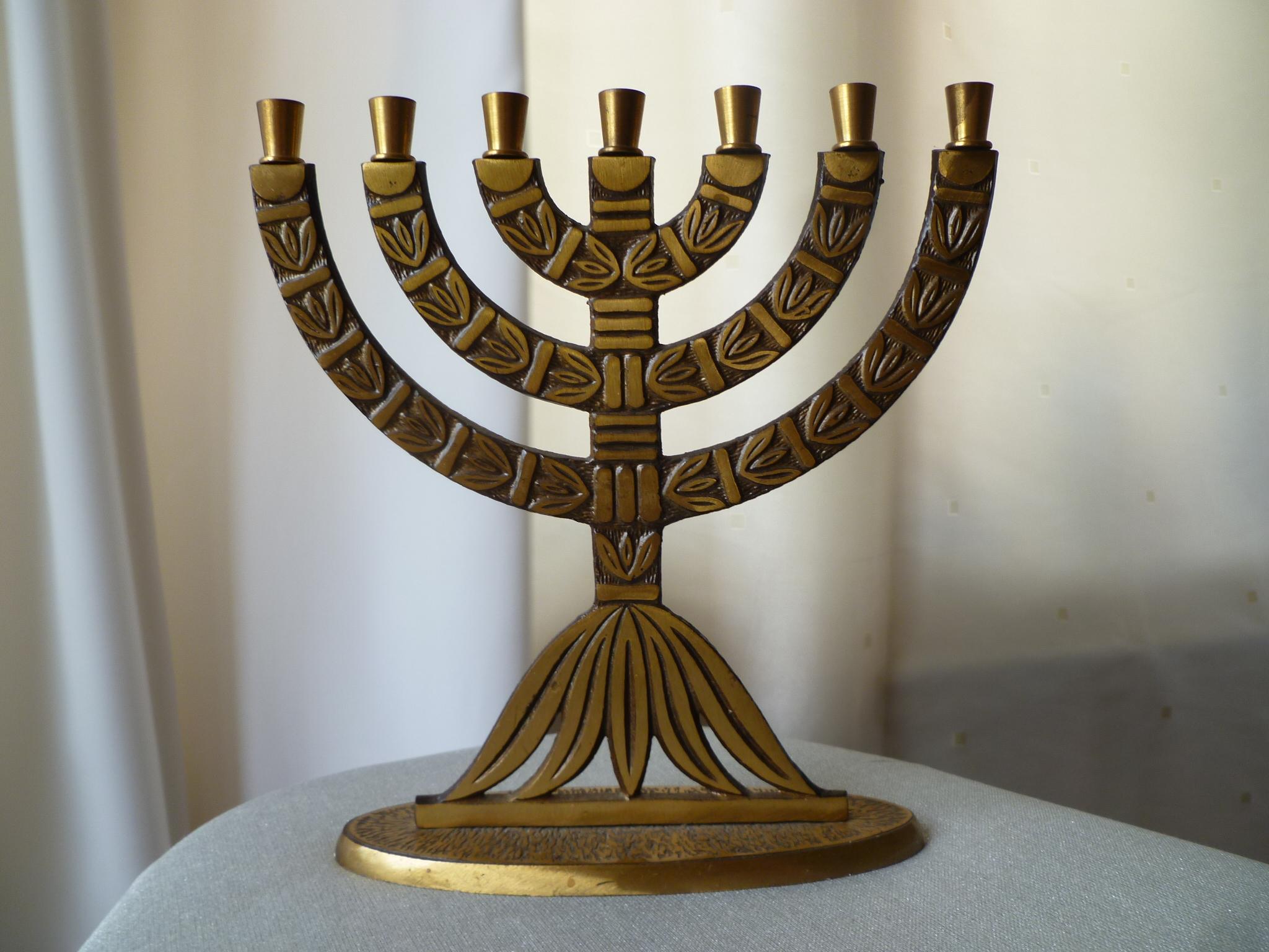 Judaism Menorah-jewish-judaism-photo- ...
