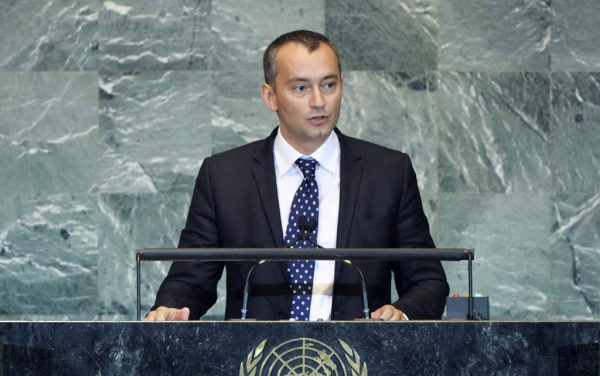 Nikolai Mladenov, appointed in August 2013 as UN Special Representative for Iraq. Photo: UN Photo/Marco Castro