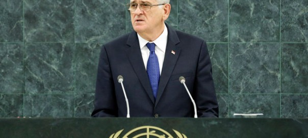 Serbian president Tomislav Nikolić. Photo: UN Photo/Evan Schneider