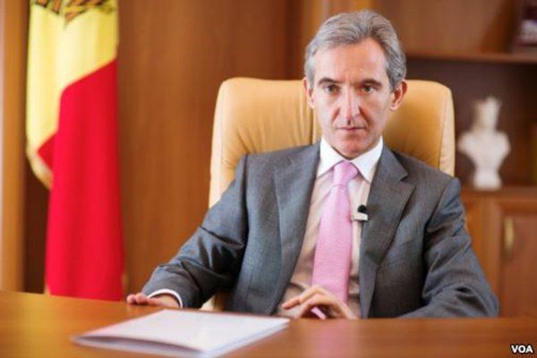 Moldovan Prime Minister Iurie Leanca. Photo: Vera Undritz for VOA