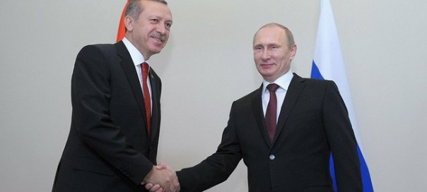 Turkish prime minister Recep Tayyip Erdogan and Russian President Vladimir Putin. Photo: kremlin.ru