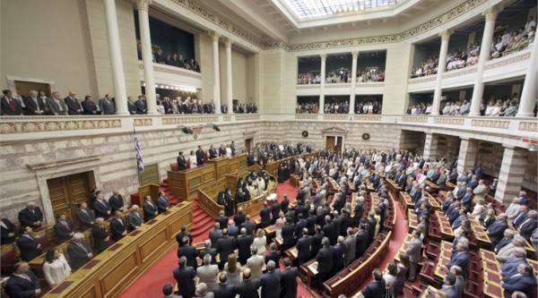 Photo: Hellenic Parliament/ Aliki Eleftheriou