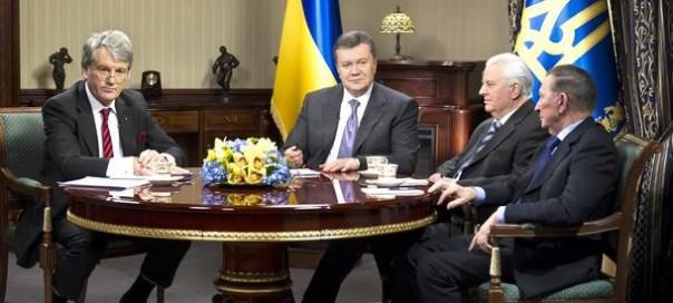 http://sofiaglobe.com/wp-content/uploads/2013/12/Viktor-Yushchenko-Viktor-Yanukovych-Leonid-Kravchuk-and-Leonid-Kuchma-604x272.jpg