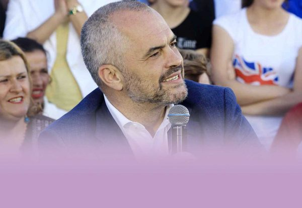 Edi Rama became Albania's prime minister. Photo: edirama.al