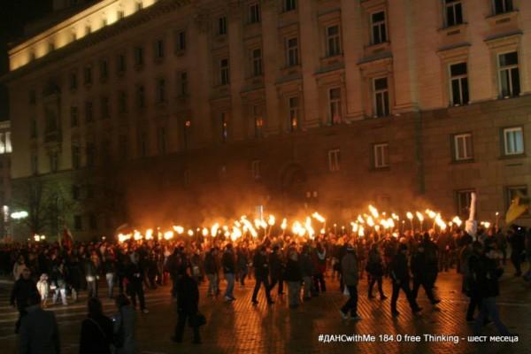 protest torches main noresharski