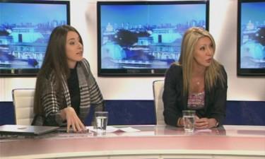 Ataka MPs Miglena Alexandrova and Denitsa Gadzheva