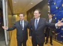 Ivica Dacic, Serbian Prime Minister, was received by JosŽ Manuel Barroso, President of the EC
