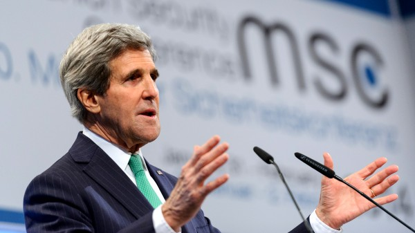 US secretary of state John Kerry. Photo: Tobias Kleinschmidt/Munich Security Conference