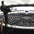 "General view of the European Parliament hemicycle in Strasbourg during the speech on the ""State of the Union Address 2013"" by José Manuel Barroso"