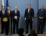 Plevneliev and consultative council on national security march 24 2014 photo president bg