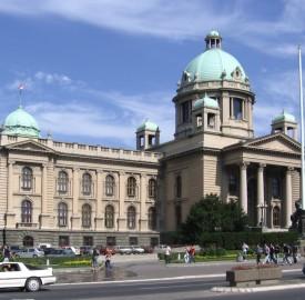 Serbian parliament Belgrade photo  Konrad Zielinski