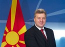 The President of the former Yugoslav Republic of Macedonia¹ visits NATO