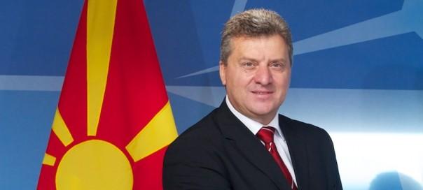 The President of the former Yugoslav Republic of Macedonia¹ visits NATO