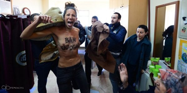 topless turkey femen