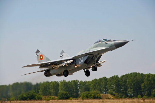 Bulgarian Air Force MiG-29.  Photo: Krasimir Grozev