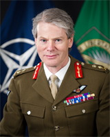 Deputy Supreme Allied Commander in Europe, General Sir Adrian Bradshaw. Photo: Nato