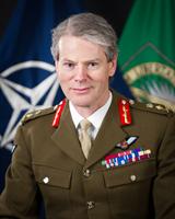 Deputy Supreme Allied Commander in Europe, General Sir Adrian Bradshaw. Photo: Nato