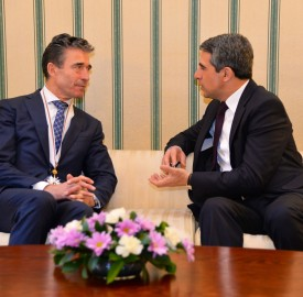 Visit by NATO Secretary General Anders Fogh Rasmussen to Bulgaria- Meeting with President Rosen Plevneliev