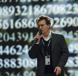Still of Johnny Depp in Transcendence. Photo by Peter Mountain - © 2013 Alcon Entertainment, LLC. All Rights Reserved