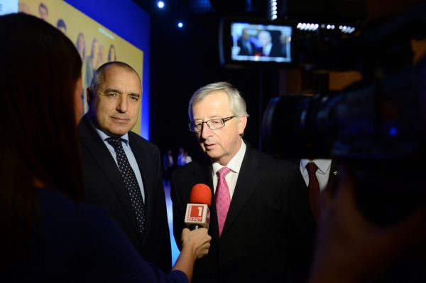 boiko borissov and juncker