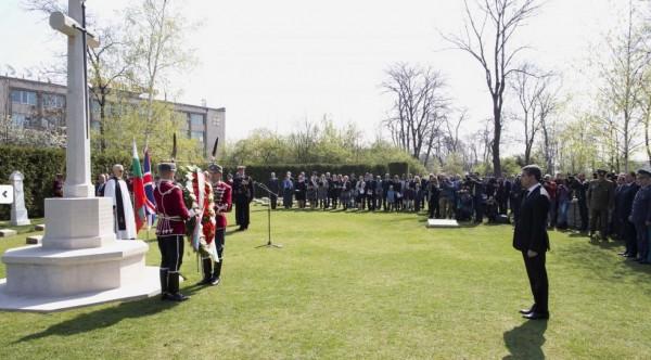 plevneliev first world war commemoration president bg