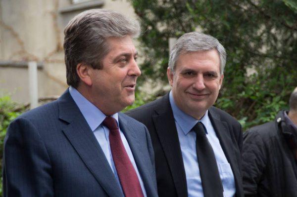 Georgi Purvanov and Ivailo Kalfin