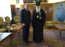 turkish ambassador and patriarch neofit photo holy synod of the bulgarian orthodox church