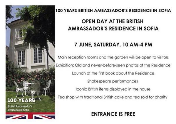 British embassy open day