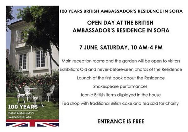 British embassy open day