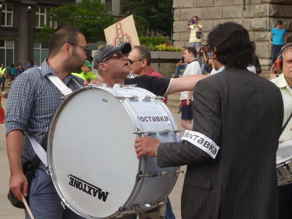 DansNoMore Protest Sofia Bulgaria June 14 2014 1 Photo Clive Leviev-Sawyer