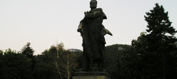 Hristo Botev monument Vratsa photo Clive Leviev-Sawyer