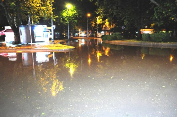 Flooding in Plovdiv, June 15 2014. Photo: podtepeto.com