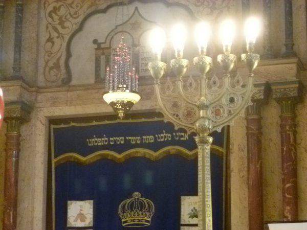 Sofia Synagogue interior photo Clive Leviev-Sawyer