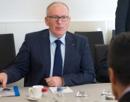 The Minister of Foreign Affairs of the Netherlands visits NATO