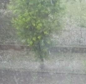 hailstorm Sofia Bulgaria July 8 2014 photo Clive Leviev-Sawyer