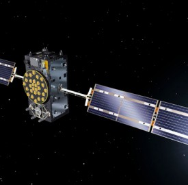 Artist's view of one of the first two Galileo full operational capability satellites. Image credit: ESA–J. Huart