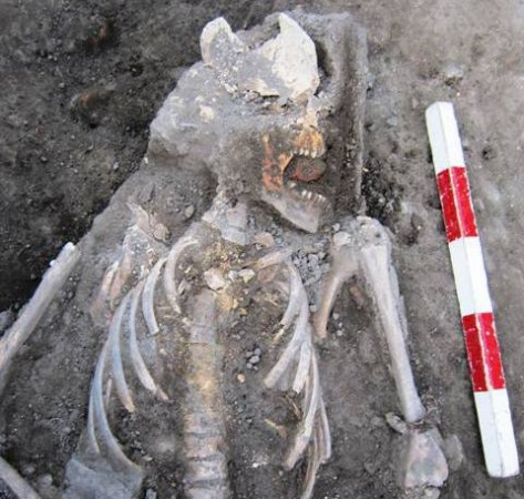 Plovdiv archaeology vampire 1a