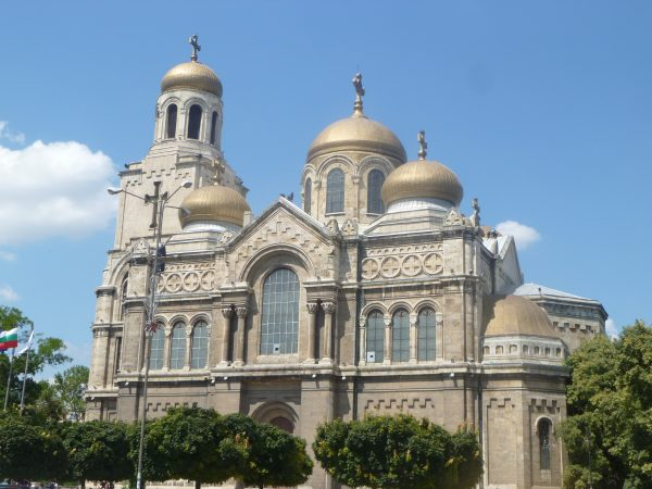 The Orthodox cathedral in Bulgaria's Black Sea city of Varna. Photo: Clive Leviev-Sawyer