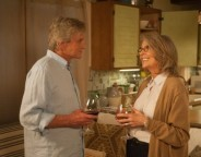 Still of Michael Douglas and Diane Keaton in And So It Goes. Photo by Clay Enos - © © 2013 ASIG Productions LLC
