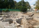 Forum archaeological site Plovdiv Bulgaria photo copyright Clive Leviev-Sawyer