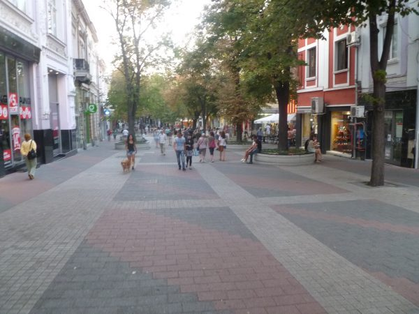 Plovdiv, as of September 2014, claims Europe's longest pedestrian zone.