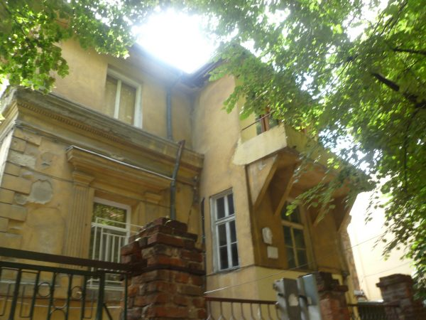 The Plovdiv house in which opera great Boris Christoff was born.
