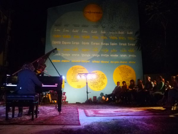 Plovdiv night of museums piano photo Clive Leviev-Sawyer